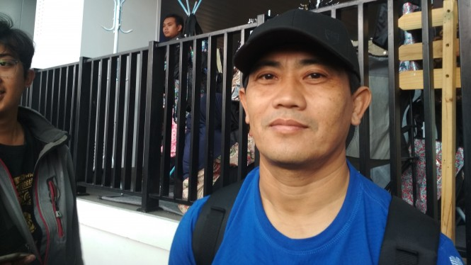 Asisten pelatih Persib Bandung, Yaya Sunarya
