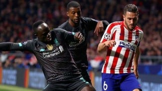 Laga babak 16 besar Liga Champions 2019/2020 antara Atletico Madrid vs Liverpool