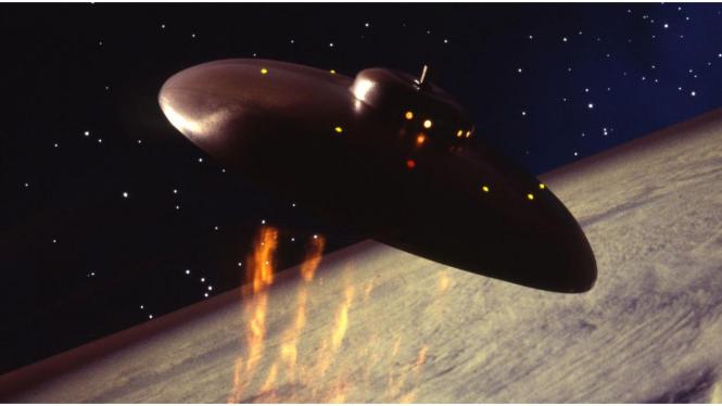 Pesawat alien, UFO.