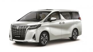 New Toyota Alphard 2020