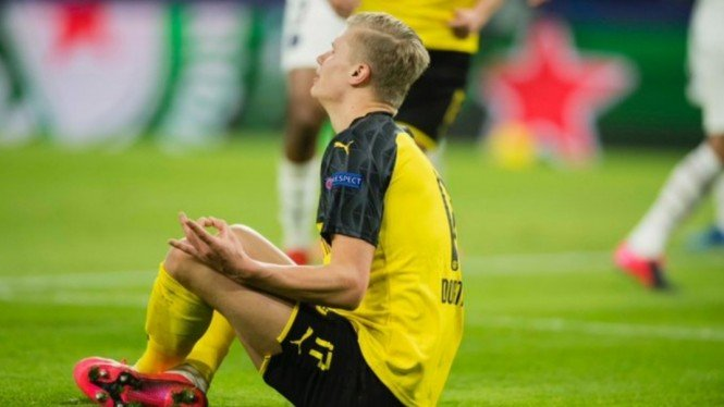 Striker Borussia Dortmund, Erling Braut Haaland.