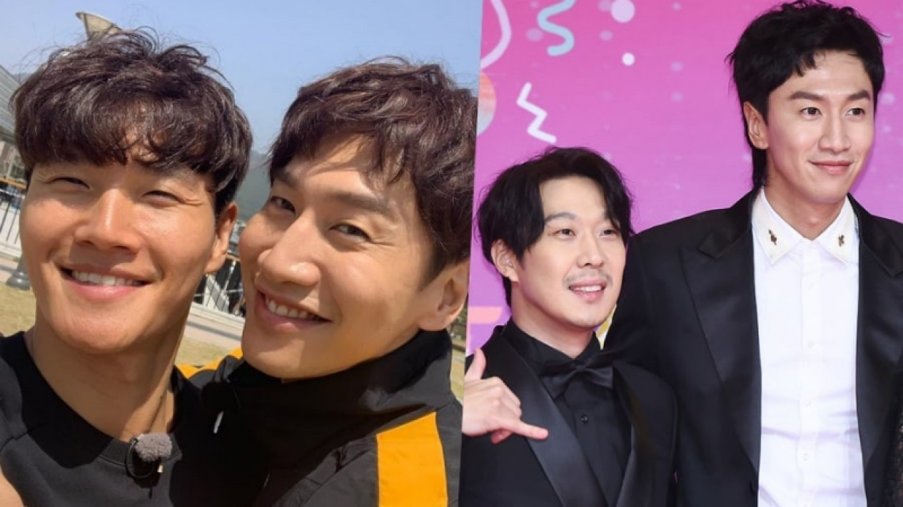 Kim Jong Kook, Haha dan Lee Kwang Soo.
