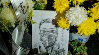 Dokter Li bisa dibilang tokoh paling terkemuka yang meninggal akibat wabah virus corona. - Getty Images