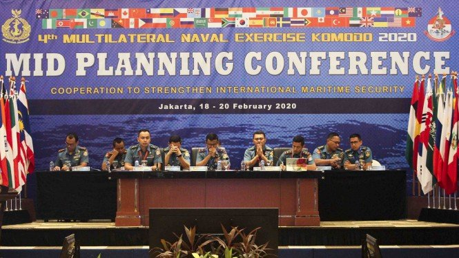 Multilateral Naval Exercise Komodo 2020