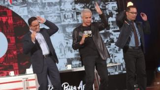 Anies Baswedan, Ganjar Pranowo, dan Ridwan Kamil.