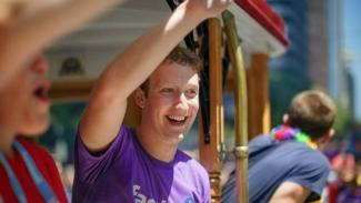 Pendiri Facebook Mark Zuckerberg.