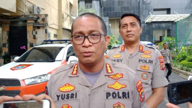 Kabid Humas Polda Metro Jaya Komisaris Besar Yusri Yunus