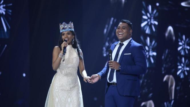 Duet dengan Andmesh, Miss World 2019 Fasih Lantunkan Lagu Indonesia