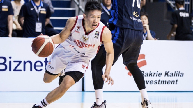 Pertandingan Timnas Basket Indonesia vs Korea Selatan