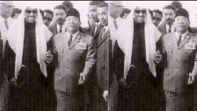 Bung Karno dan Raja Arab