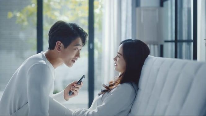 Rain dan Kim Tae Hee bintangi iklan bareng.