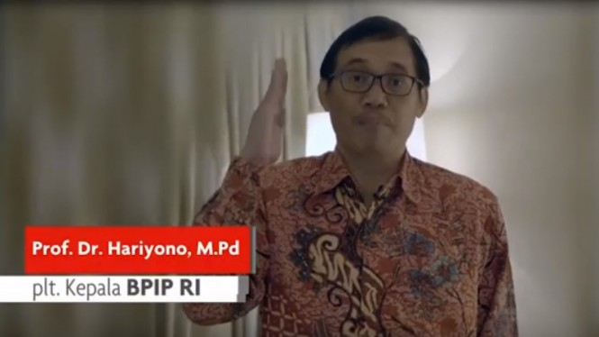 Kepala Badan Pembinaan Ideologi Pancasila (BPI), Yudian Wahyudi