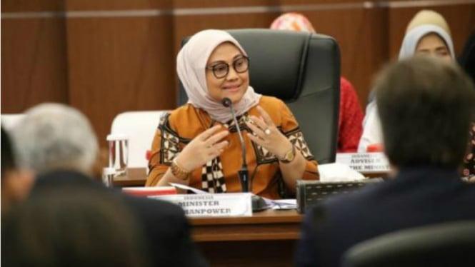 Menteri Ketenagakerjaan Ida Fauziyah