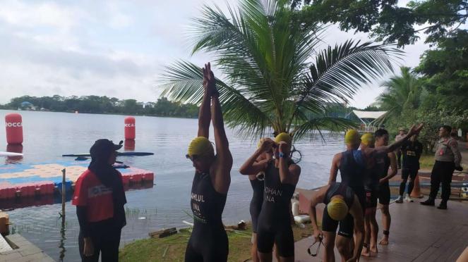 Indonesia Triathlon Series di Palembang
