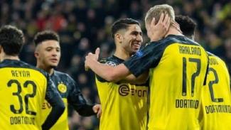 Selebrasi pemain Dortmund