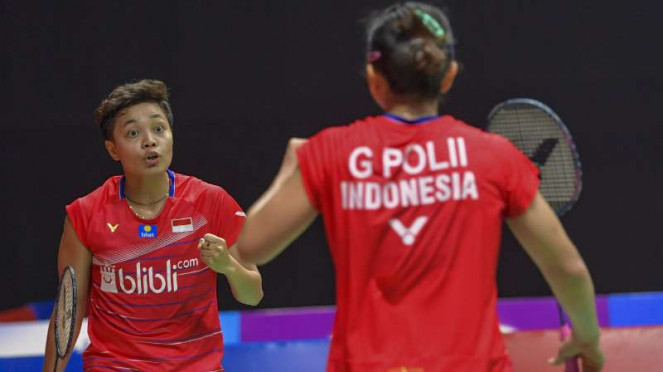 Ganda putri Indonesia, Greysia Polii/Apriyani Rahayu.