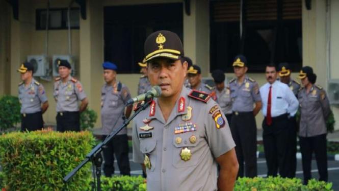 Deputi Penindakan KPK, Karyoto, saat masih menjabat sebagai Wakapolda Daerah Istimewa Yogyakarta