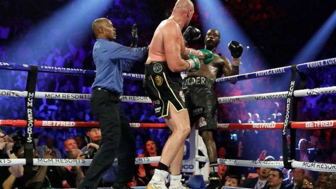Duel Tyson Fury vs Deontay Wilder