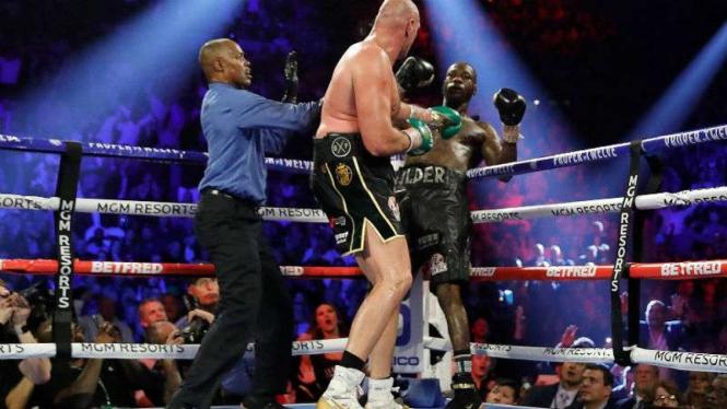 Duel Tyson Fury vs Deontay Wilder