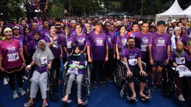 Run For Hope 2020, Peringati Hari Kanker Sedunia