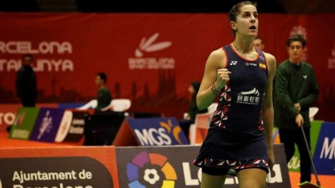 Carolina Marin.