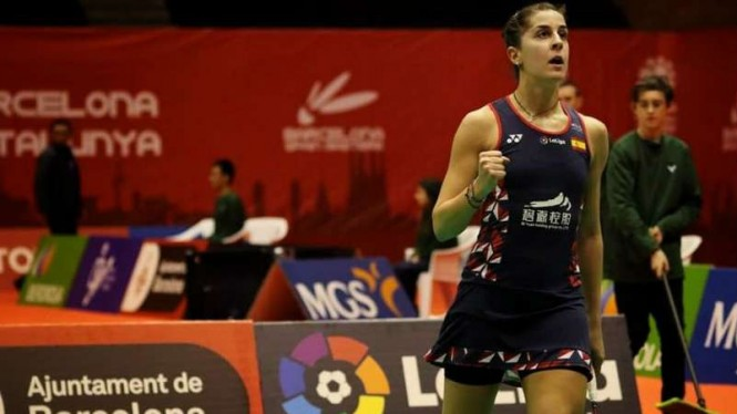 Tragis, Maharatu Bulutangkis Dunia Tumbang di Final Spain Masters
