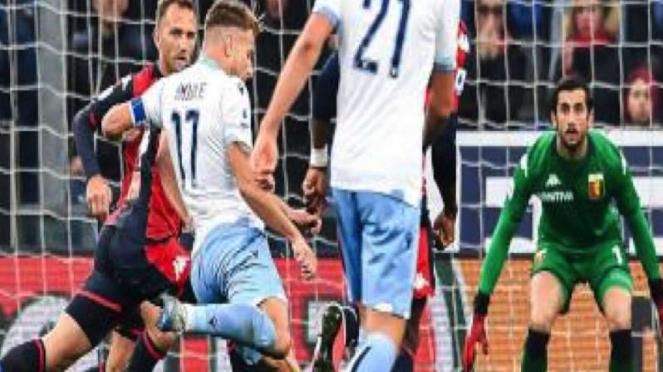 Laga Lazio vs Genoa