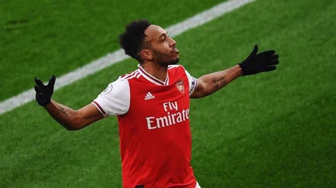 Striker Arsenal, Pierre-Emerick Aubameyang