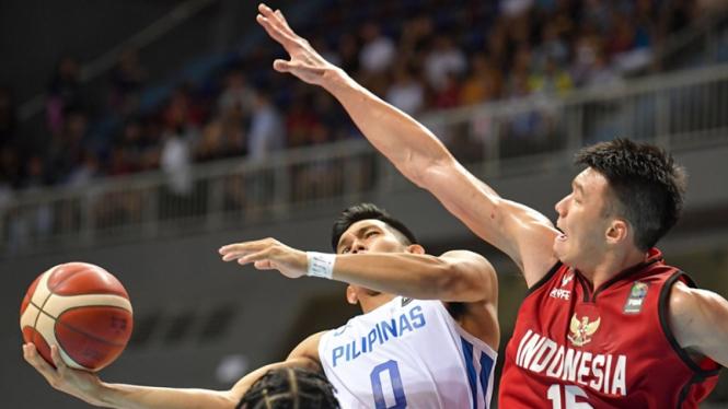 Penyebab Timnas Basket Indonesia Tak Bisa Kalahkan Filipina