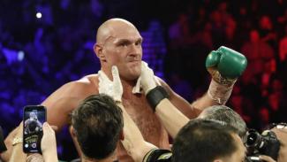 Petinju juara kelas berat, Tyson Fury.