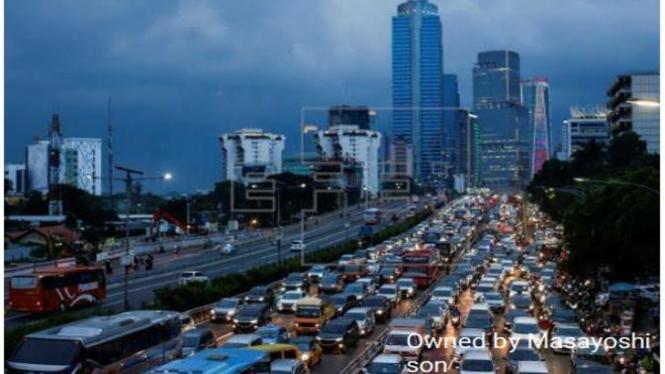 Gedung-gedung Jakarta akan dimiliki Masayoshi son.