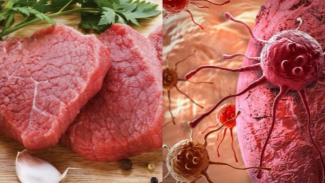 bahaya daging merah