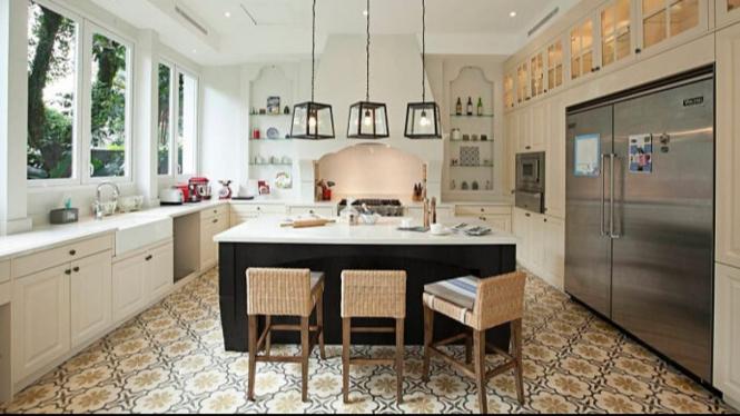 Desain Meja Dapur Island  desain dapur island yang mewah untuk rumah anda viva