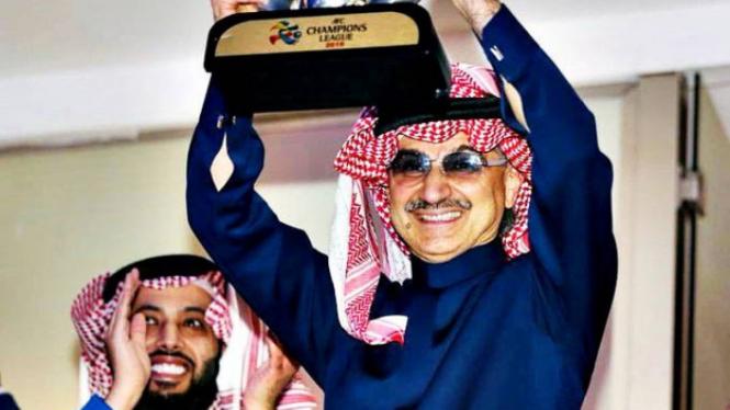 Sosok Pangeran Alwaleed bin Talal, Orang Terkaya Arab Saudi