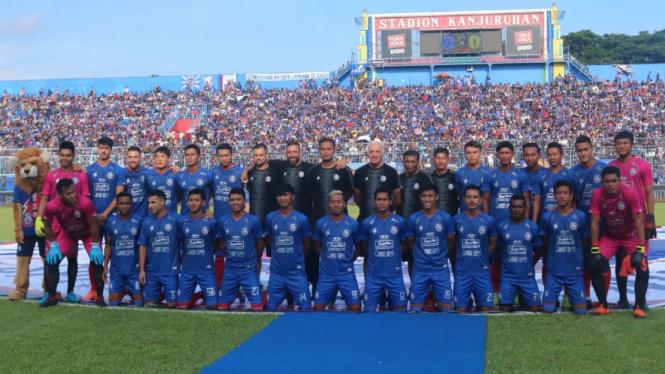 Peluncuran skuat Arema FC musim 2020