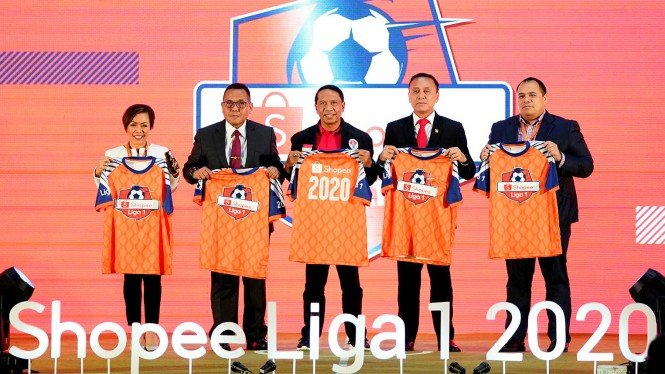 Launching kompetisi Shopee Liga 1 2020
