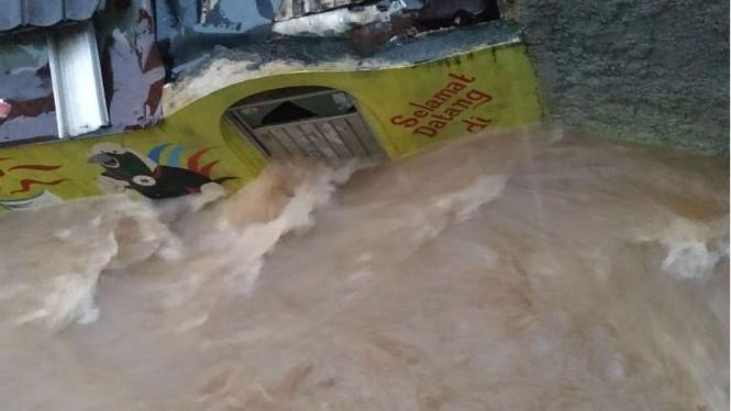 Banjir di Cipinang Melayu, Selasa 25 Februari 2020