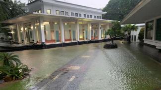 Istana Negara tergenang, Selasa 25 Februari 2020.