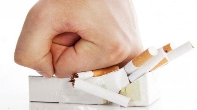 Terlalu banyak merokok.