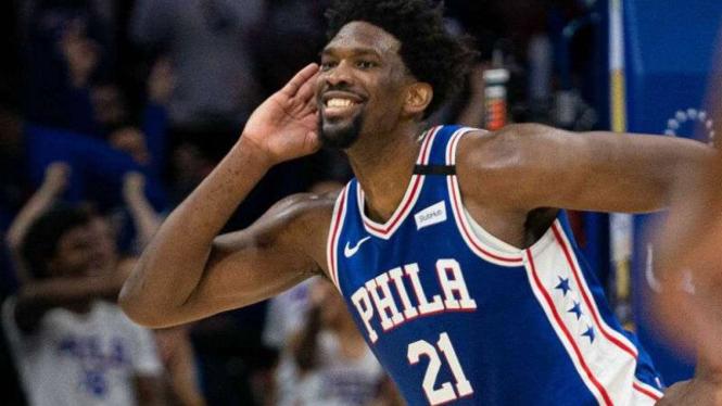 Pemain Philadelphia 76ers, Joel Embiid.