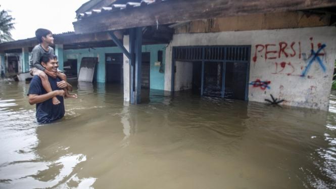 Banjir Terjadi di Beberapa Wiliyah Jakarta