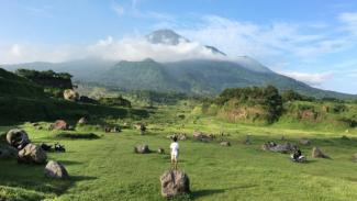 Wisata Ranu Manduro Ngoro di Mojokerto.
