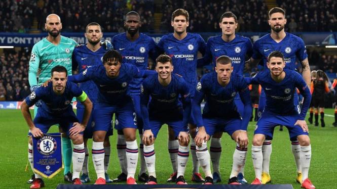 Skuat Chelsea di 16 besar Liga Champions