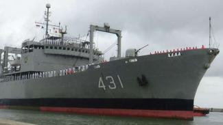 Kapal Perang Iran, IRIS Kharg-431 di Tanjung Priok.