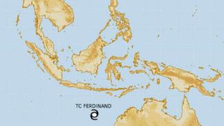 Badai tropis Ferdinand.