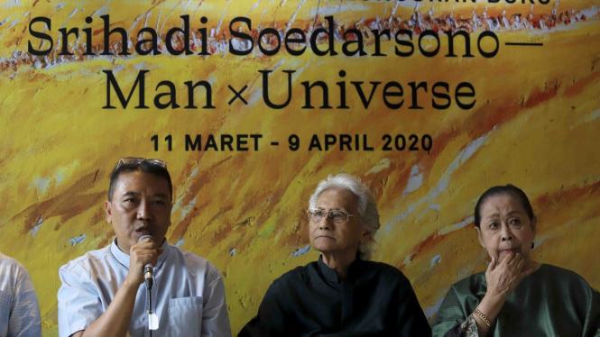 Jelang Pameran Lukisan Man x Universe
