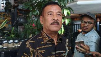 Mantan manajer Persib Bandung, Umuh Muchtar.