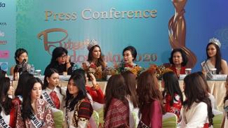 Putri Indonesia 2020.