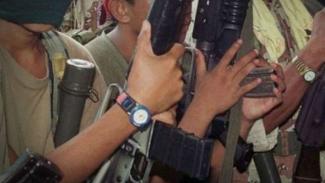 Kelompok bersenjata Abu Sayyaf.