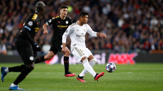 Pertandingan Real Madrid vs Manchester City